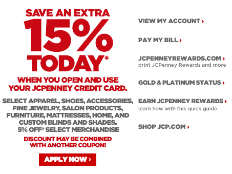 Jcpenney Credit Card Online Credit Center