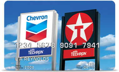 Chevron Texaco Credit Card >> Chevron And Texaco Visa Card