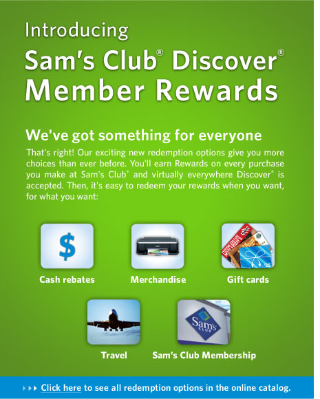 Sams Club Discover Card Customer Sam U0027s Club Gift
